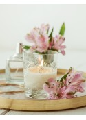 Amber Wood Crystal Candles świeca zapachowa w krysztale Elegancka świeca Vincent regular