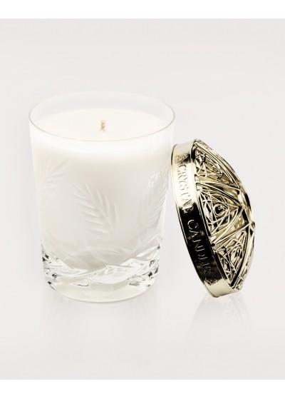 Rozmaryn i Lawenda Olejki eteryczne Crystal Candles luksusowa świeca w krysztale Vincent regular