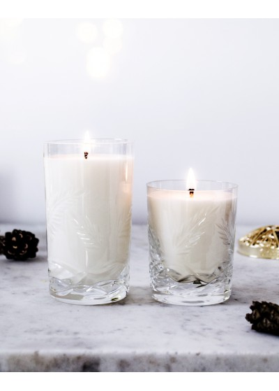 Rosemary Lavender Crystal Candles Scented Soy Candles Gold Topper Vincent
