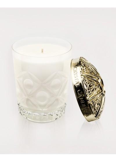 Gernaium, Pomarańcza i Bergamotka Olejki eteryczne Crystal Candles luksusowa świeca w krysztale Laura regular